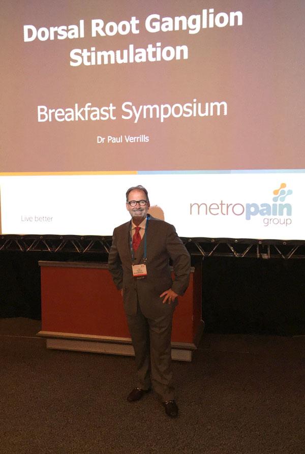 Dr Paul Verrills at INS 2017